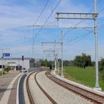 Schweizer-Eisenbahnen Bahnhof Muolen