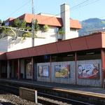 Schweizer- Eisenbahnen Bahnhof Schwyz