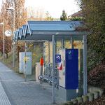 Schweizer-Eisenbahnen - Bahnhof Landschlacht
