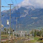 Schweizer Eisenbahnen Bahnhof Zizers