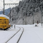 Schweizer-Eisenbahnen Bahnhof Rueun
