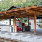 Schweizer-Eisenbahnen Bahnhof Mörel