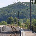 Schweizer-Eisenbahnen - Bahnhof Talhaus