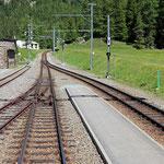 Schweizer-Eisenbahnen Bahnhof Cavaglia