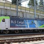 Schweizer-Eisenbahnen - Re 485 / 011