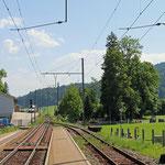 Schweizer-Eisenbahnen Bahnhof Jakobsbad