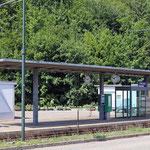 Schweizer-Eisenbahnen - Bahnhof Hölstein