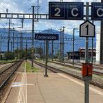 Schweizer-Eisenbahnen Bahnhof Cadenazzo