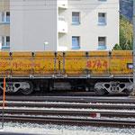 Schweizer-Eisenbahnen RhB Güterwagen Xa-u 8764