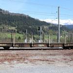 Schweizer-Eisenbahnen RhB Güterwagen Sp-w - 8281