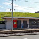 Schweizer-Eisenbahnen Bahnhof Sammelplatz