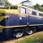 März 2018: Lokomotive L1150 von 1953 im 'Railway Museum' in Melbourne (Aufnahme vom Mai 1999).