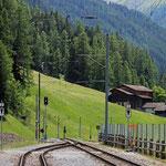 Schweizer-Eisenbahnen Bahnhof Davos Glaris