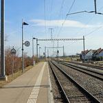 Schweizer-Eisenbahnen Bahnhof Altnau