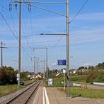 Schweizer-Eisenbahnen - Bahnhof Reutlingen