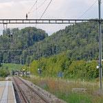 Schweizer-Eisenbahnen - Bahnhof Rämismühle-Zell
