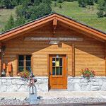 Schweizer-Eisenbahnen Bahnhof Oberwald