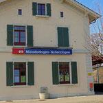 Schweizer-Eisenbahnen - Bahnhof Münsterlingen-Scherzingen
