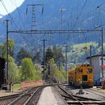 Schweizer-Eisenbahnen Bahnhof Ilanz