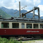 April 2016: Castione, der ehemalige Bahnhof der Ferrovia Mesolcinese (Aufnahme vom Mai 2008).