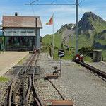 Schweizer-Eisenbahnen - Bahnhof Schynige Platte