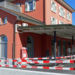 Schweizer-Eisenbahnen - Bahnhof Wald