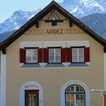 Schweizer-Eisenbahnen Bahnhof Ardez
