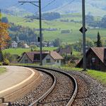 Schweizer-Eisenbahnen Bahnhof Hirschberg
