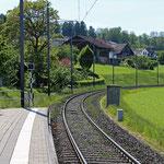 Schweizer-Eisenbahnen - Bahnhof Triboltingen