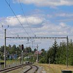 Schweizer-Eisenbahnen Bahnhof Diessenhofen