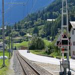 Schweizer-Eisenbahnen - Bahnhof Li Court