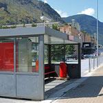 Schweizer-Eisenbahnen Bahnhof Eyholz