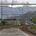 Schweizer-Eisenbahnen Bahnhof Murg