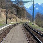 Schweizer-Eisenbahnen Bahnhof Guarda
