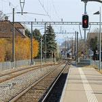 Schweizer-Eisenbahnen - Bahnhof Uttwil