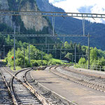 Schweizer-Eisenbahnen - Bahnhof Blausee-Mitholz
