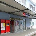 Schweizer-Eisenbahnen - Bahnhof Speicher