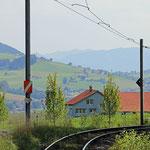 Schweizer-Eisenbahnen - Bahnhof Gontenbad