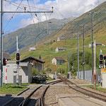 Schweizer-Eisenbahnen - Bahnhof Hospental