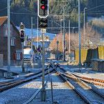 Schweizer-Eisenbahnen - Bahnhof Appenzell