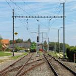Schweizer-Eisenbahnen - Bahnhof Lommiswil