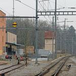 Schweizer-Eisenbahnen - Bahnhof Regensdorf-Watt