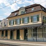 Schweizer-Eisenbahnen - Bahnhof Rheineck