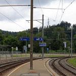 Schweizer-Eisenbahnen Bahnhof Lustmühle