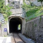 Schweizer- Eisenbahnen - Bahnhof Schloss Laufen am Rheinfall