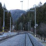 Schweizer-Eisenbahnen - Bahnhof Davos Wiesen