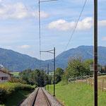 Schweizer-Eisenbahnen - Bahnhof Granval