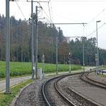 Schweizer-Eisenbahnen Bahnhof Murkart