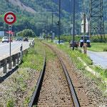 Schweizer-Eisenbahnen Bahnhof Les Fumeaux