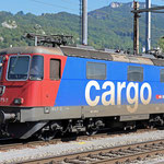 Schweizer-Eisenbahnen - Re 421 * 373
